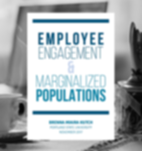 Employee Engagement & Marginalized Populations Title Page