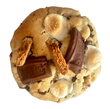 S'mummer Camp- A s'mores cookie that benefits that Akron Rotary Camp
