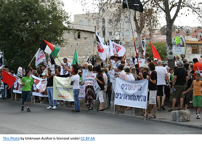 Protest Silwan and Sheikh Jarrah cc by s