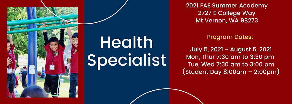 Health Specialist