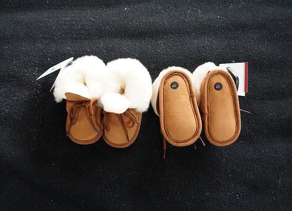 Pantufas de bebé c/ cordão