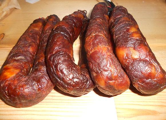 Chouriça de carne unidade +/- 250g