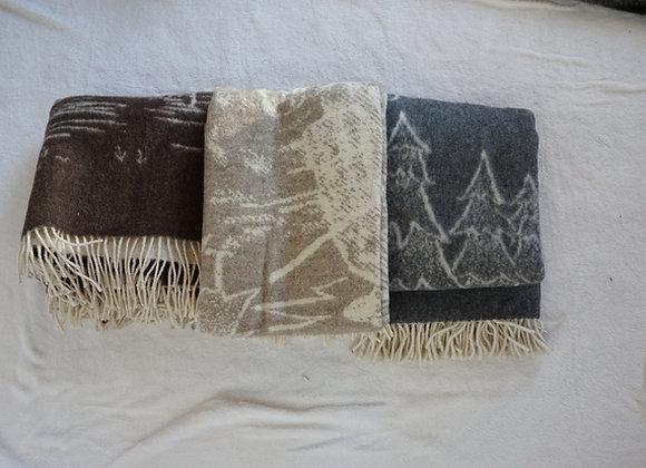 Manta de lã pastor