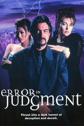 Error In Judgement