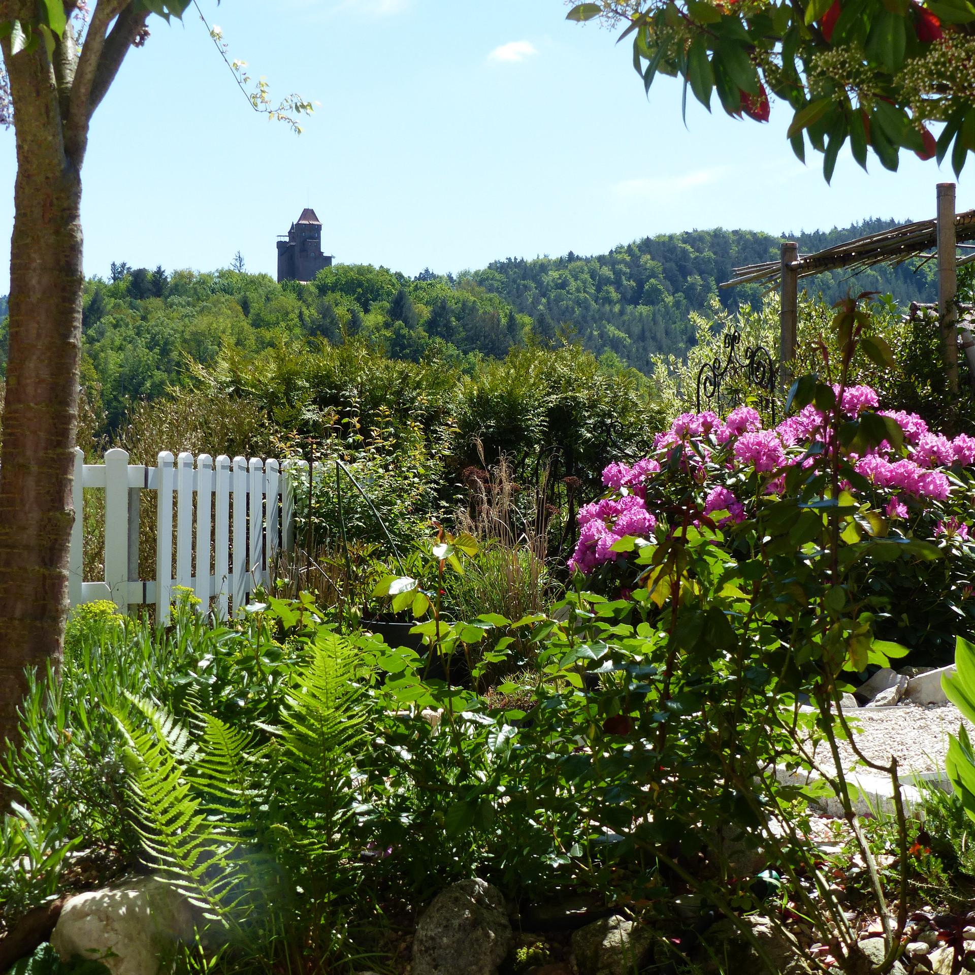 Aus dem Fenster der Ferienwohnung Monte Noble II