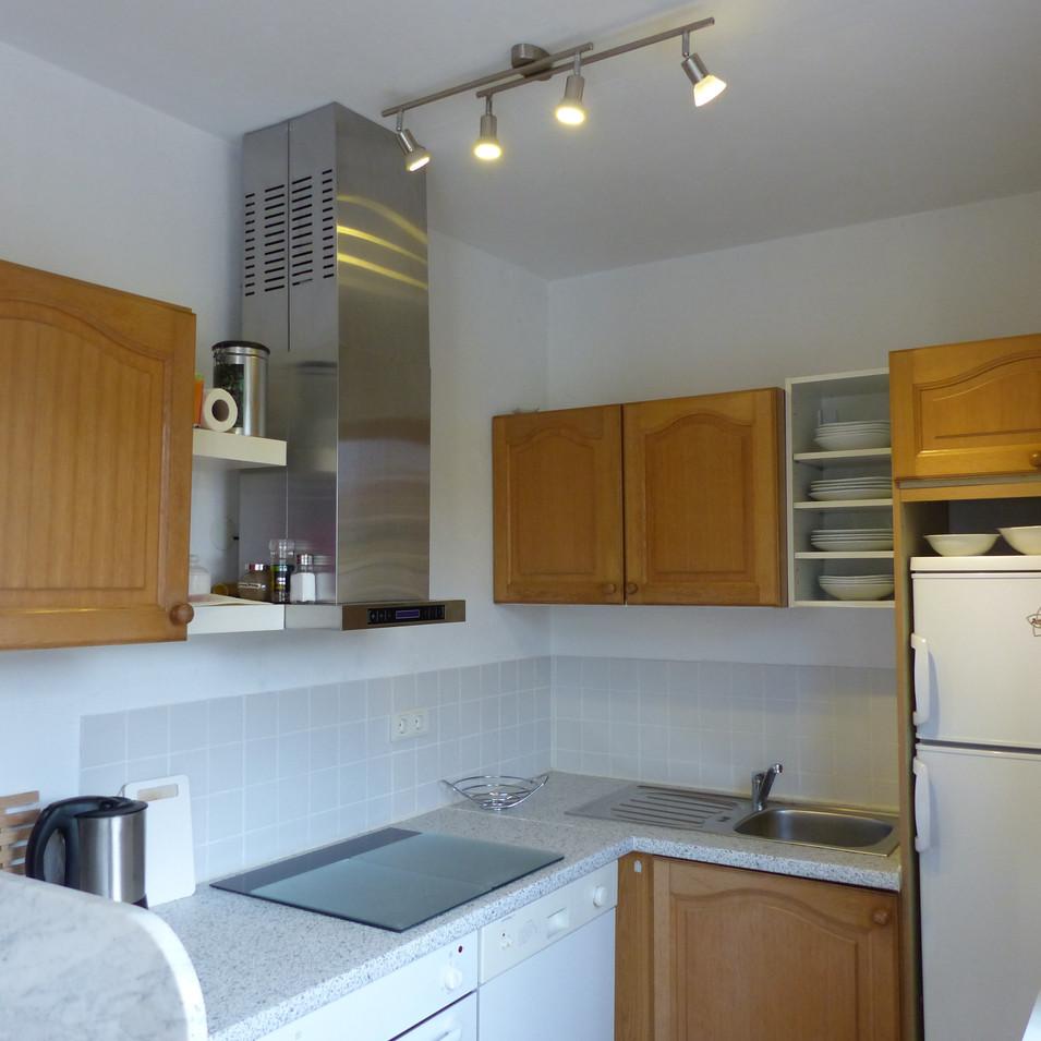 Blick in den Küchenbereich
