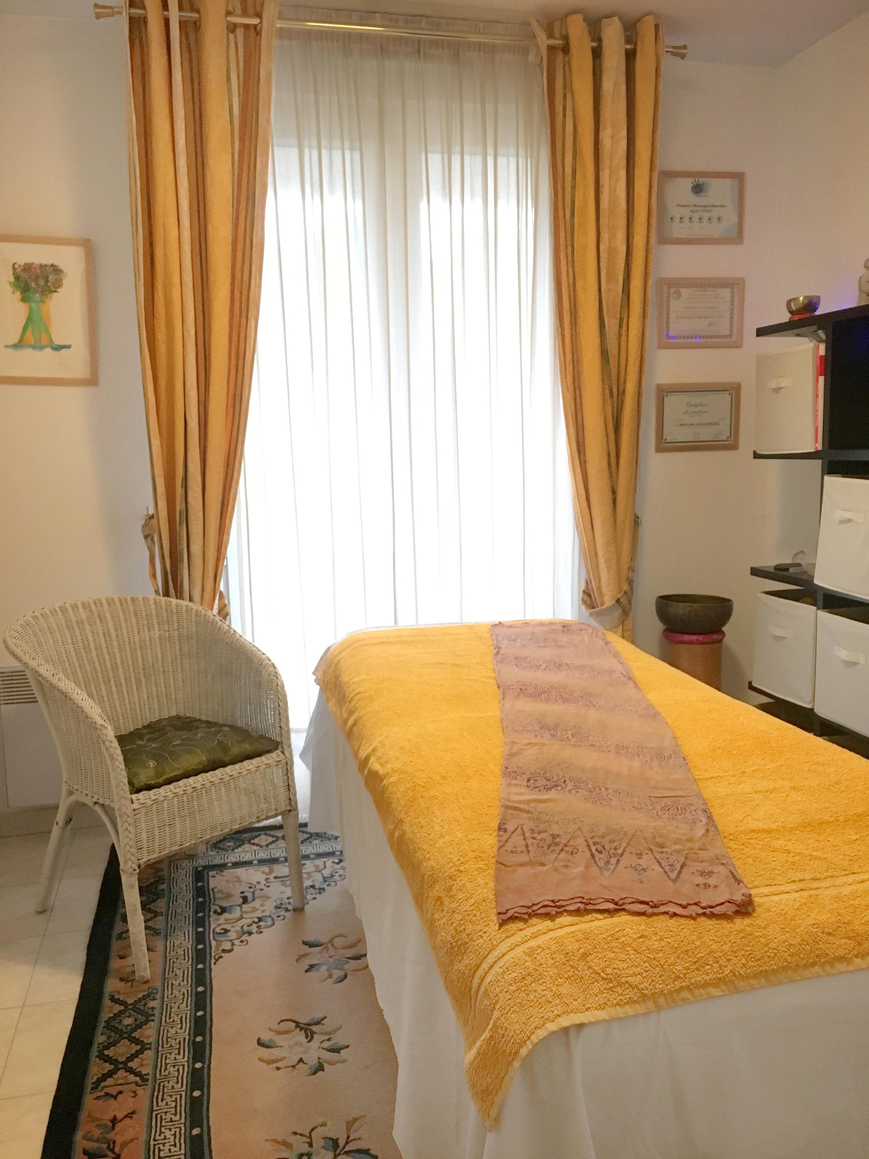 Massage 60mn - cabinet de St Clément