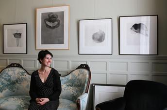 Jeanne Clauteaux ou la gravure en apesanteur                                                 輕盈的力量:J
