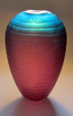 Heria 1, cut glass vessel