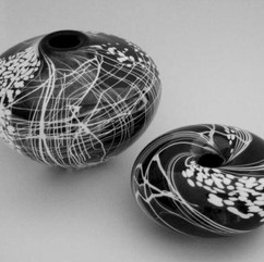 'Midnight Sky' range produced at Smithbrook Glassblowing Studio