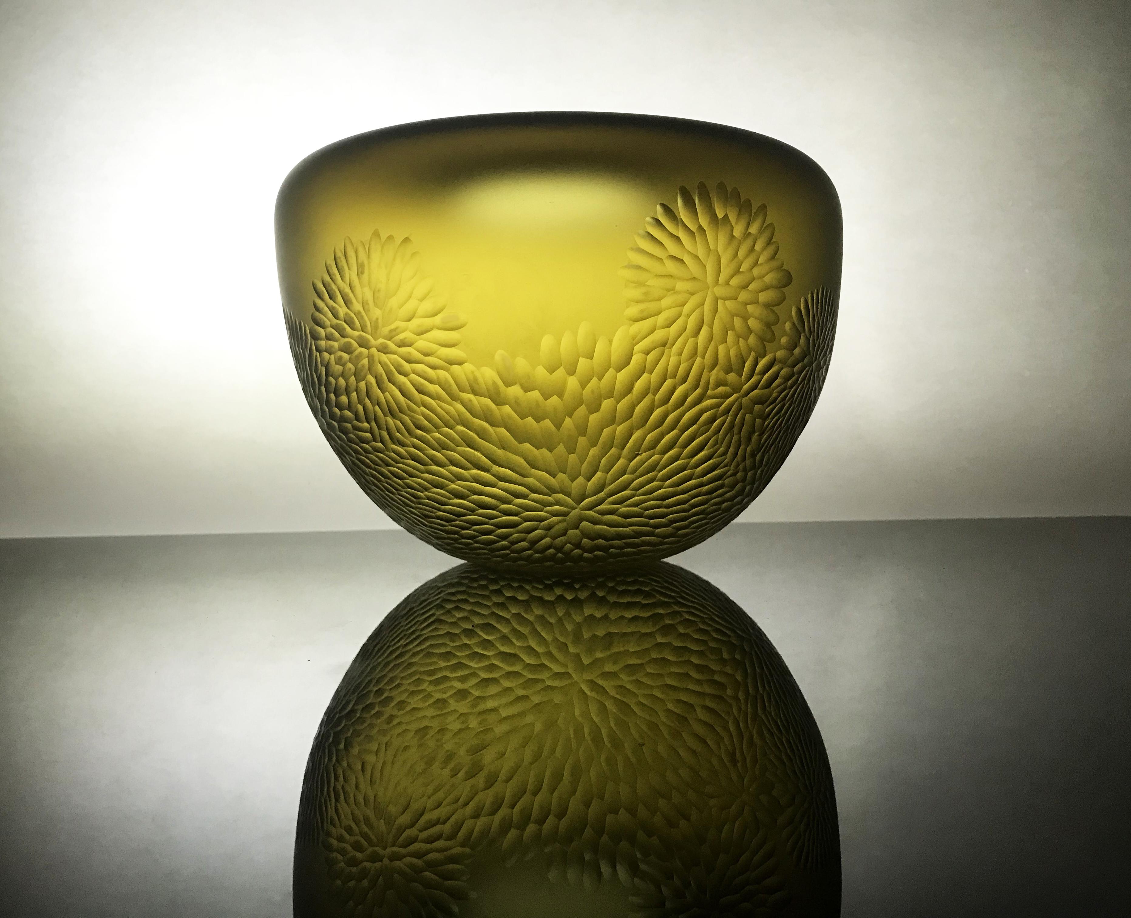 Fossilised Amber Vessel