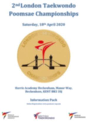 London Taekwondo Poomsae Championships 2