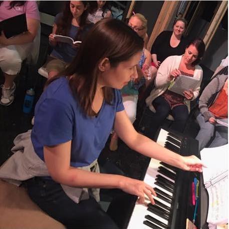 Music Theatre rehearsal