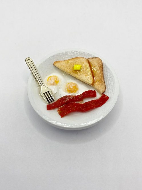Breakfast Plate Magnet