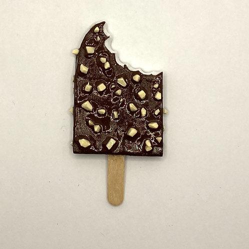 Chocolate Crunch Ice Cream Bar Magnet