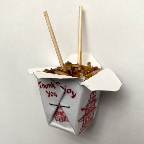 """""""Beefy"""" Chinese Takeout Box Magnet"""
