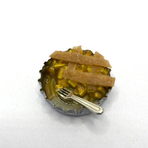 Apple Pie Half with fork