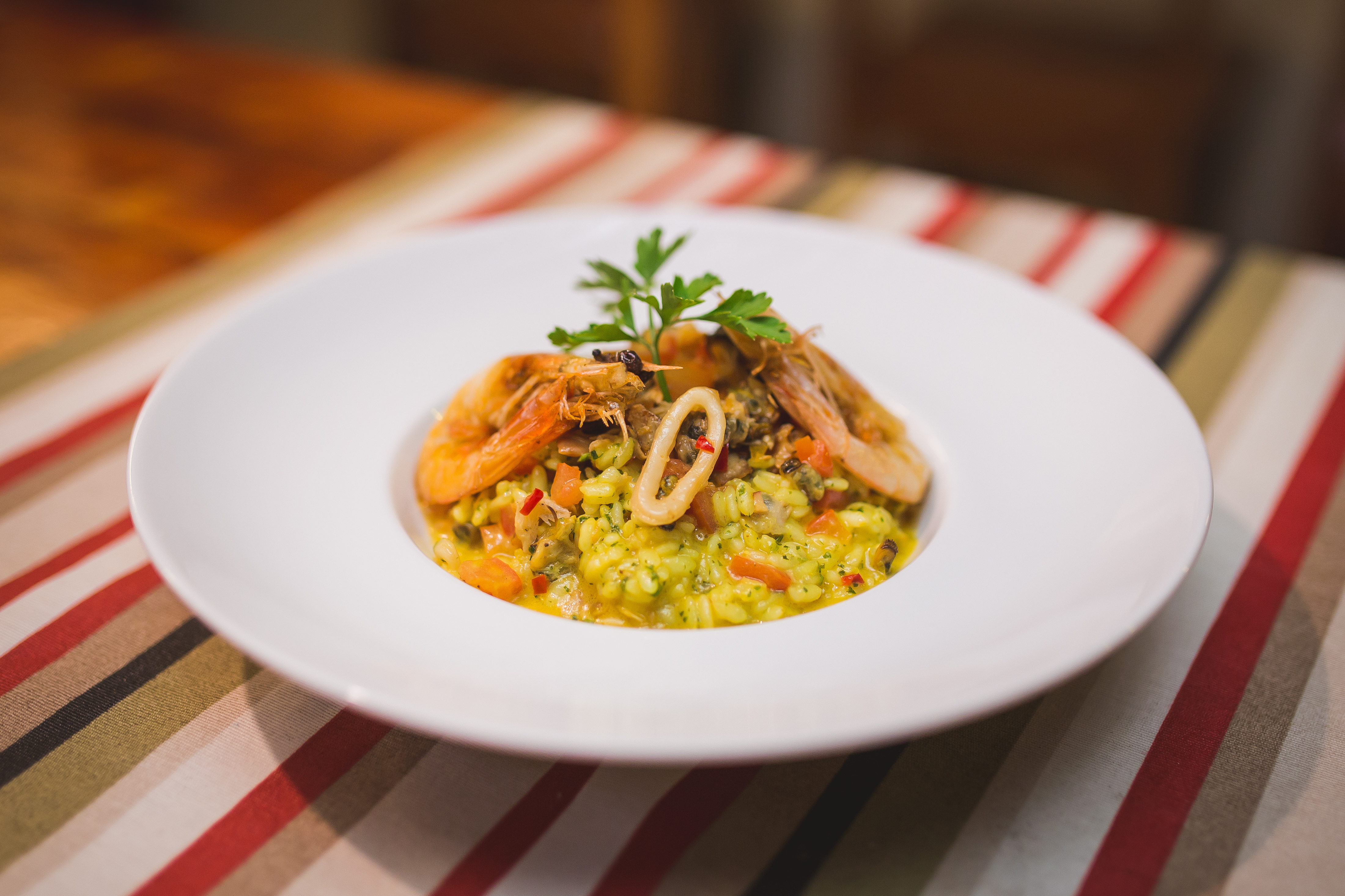 Tuyn Food Risotto Frutos do mar