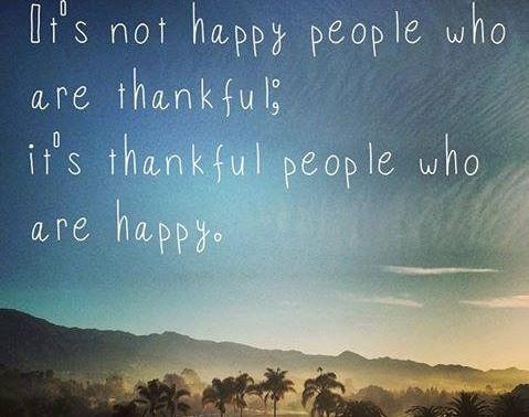 Yearly Gratitude
