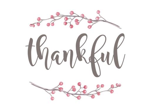 2014 Gratitude List