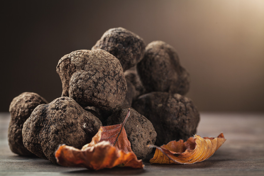 Let your chef take it easy all while being decadent with fresh truffles