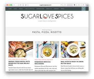 SugarLoveSpices is authored by the Italian and Canadian Italian husband and wife duo Loreto and Nicoletta