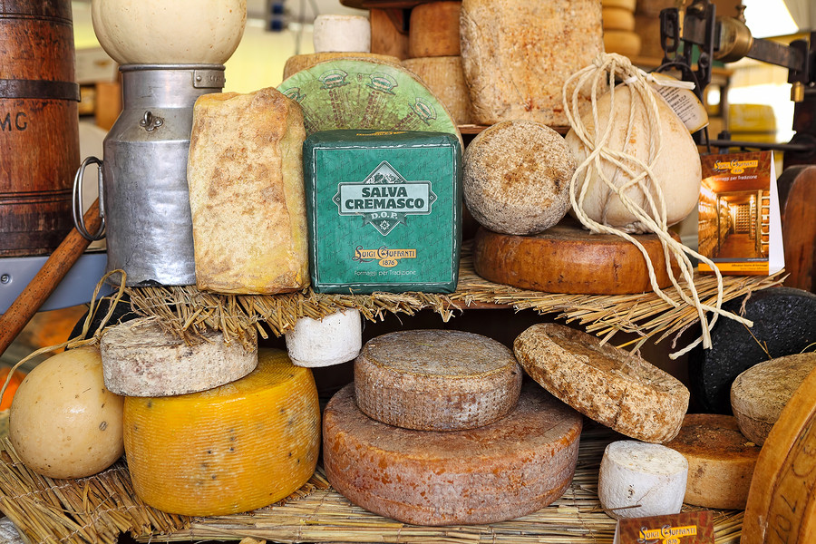 Parmigiano is known as the King of All Cheeses