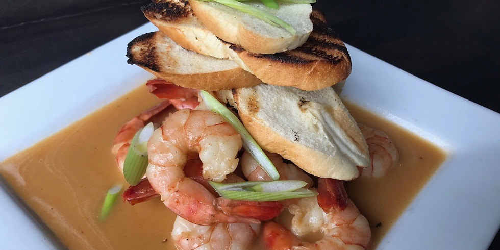 WEDNESDAY NIGHT SUPPER CLUB: FOR THE LOVE OF SHRIMP!