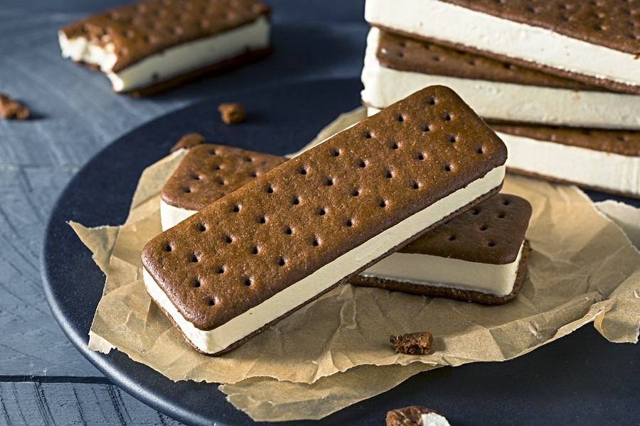 Ice Cream sandwiches will delight your guests