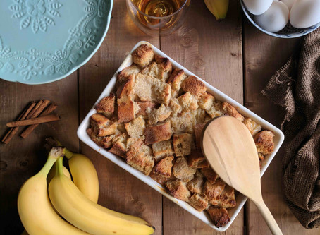 Recipes that Smell So Good, Your Guests Will Want to Move In - Bread Pudding Recipe