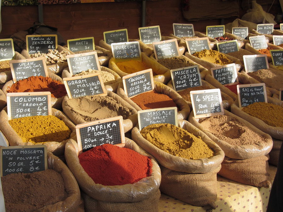 Experiment with new spices and discover new dishes from around the world