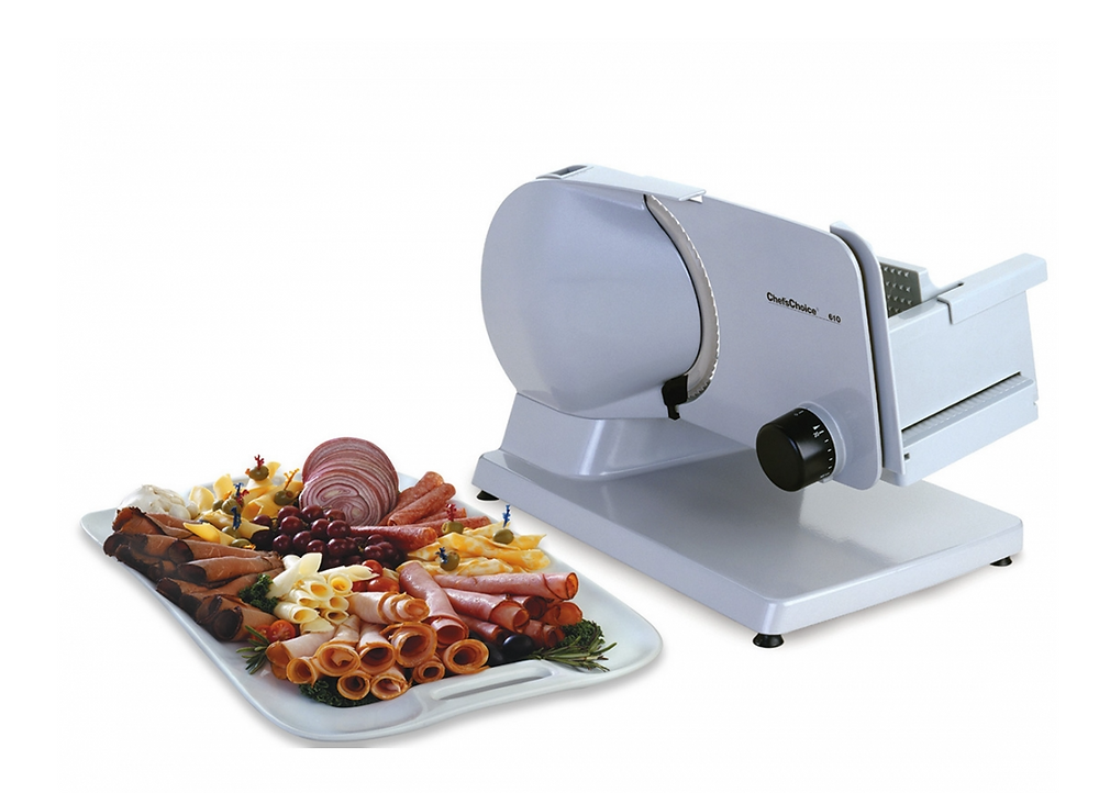 Fresh sandwiches will always be within reach with this meat slicer