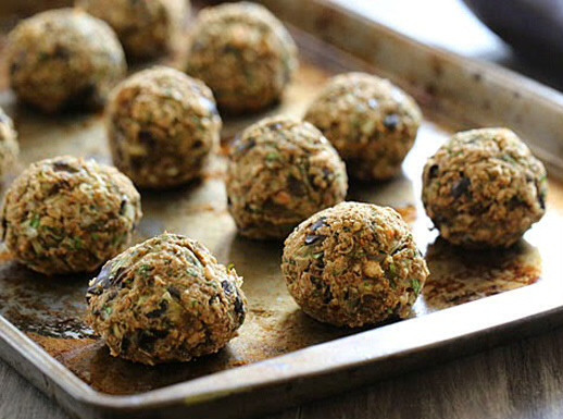 This Eggplant and Olive Ball Recipe is a beautiful appetizer to add to your repertoire!
