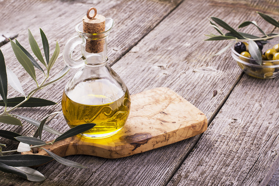 Olive oil and vinegar, two of the most important parts to the Italian diet