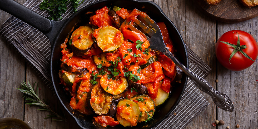 WEDNESDAY NIGHT SUPPER CLUB: CELEBRATING SPRING HARVEST WITH A SPANISH RATATOUILLE