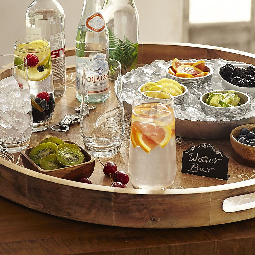 A serving platter is a dining essential