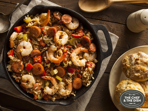Gifts for Food Loving Fathers: The Chef & The Dish Jambalaya Cooking Class