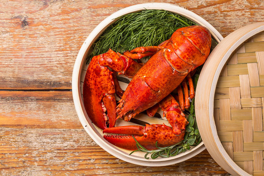 Lobsters swim backwards - and you don't want to go backward in the New Year!