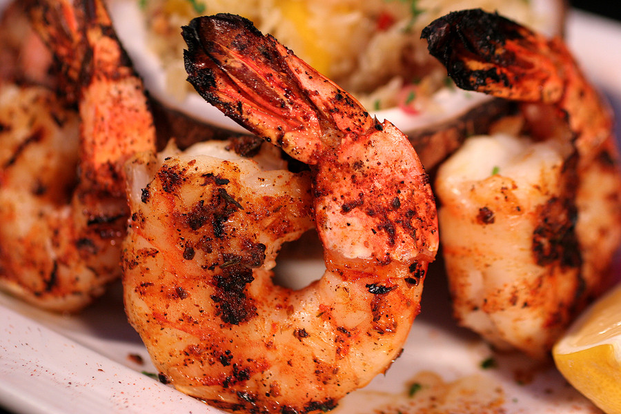 New Orleans Style Blackened Shrimp