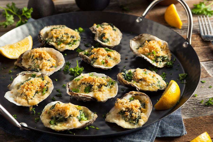 Learn how to make the ultimate Oysters Rockefeller in a Special Skype Cooking Class with Chef Gason in New Orleans