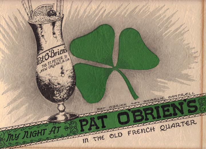 Pat O'Brien's souvenir