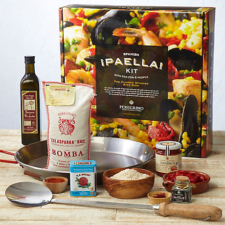 Gifts for Food Loving Fathers: Paella Kit