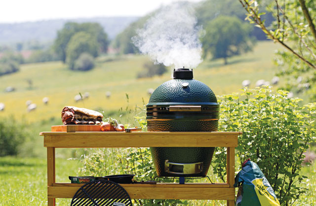 The Big Green Egg is a superior grill, smoker and oven - all in one