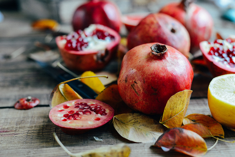 The Pomegranate tradition in Greece is messy, but super fun