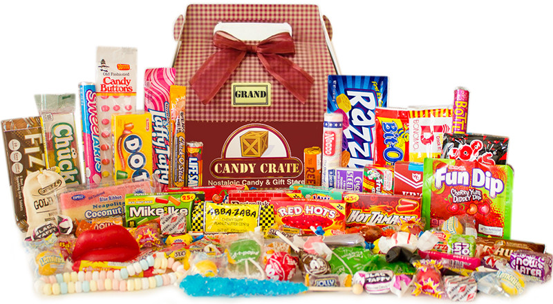 Throw back to decades of candy!