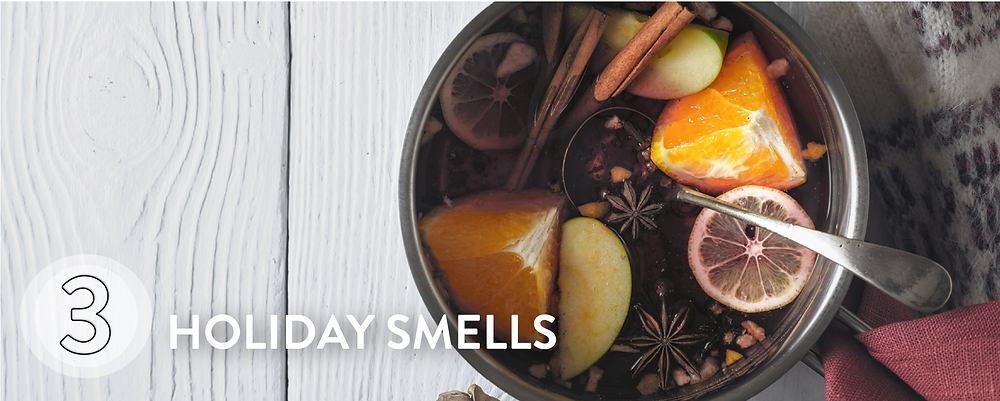 Make the house smell gorgeous with mulled wine on the stove.