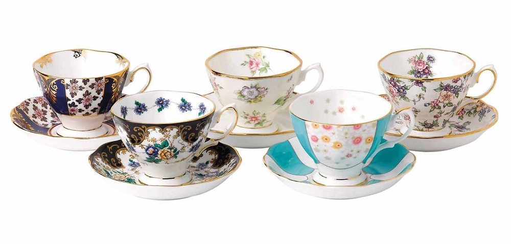 This Royal Albert vintage tea set is an ode to quintessential English grace