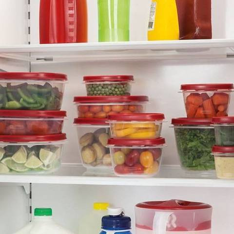 Stackable Rubbermaid Containers