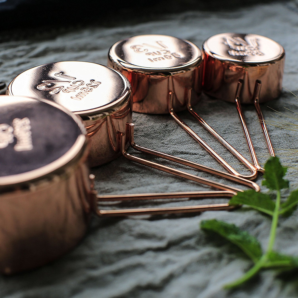 Measuring spoons will last for life, these copper versions you'll want forever, too