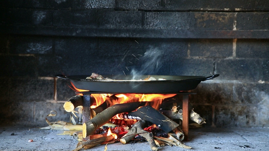 Cook the way your ancestors did, over an open fire